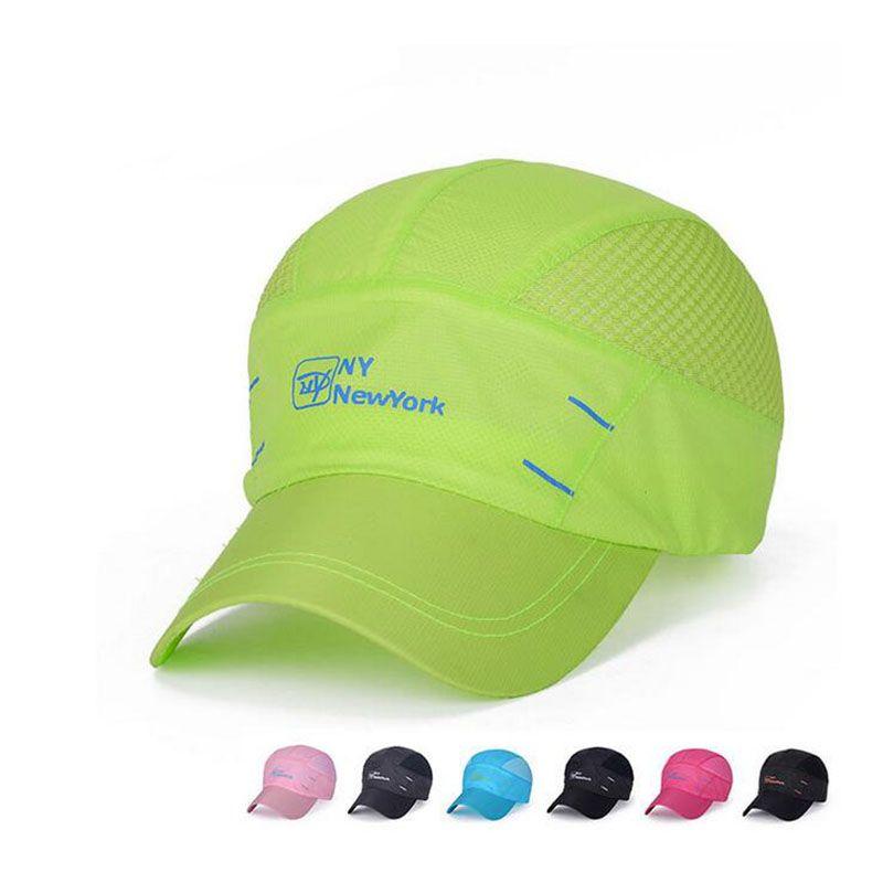 9519af899b3 7 colors summer NY baseball cap men and women caps folding hats ...