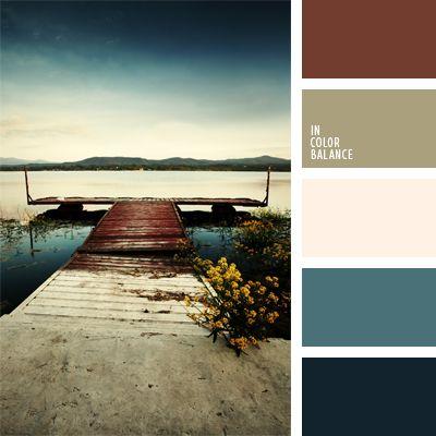 color palette - worn hues