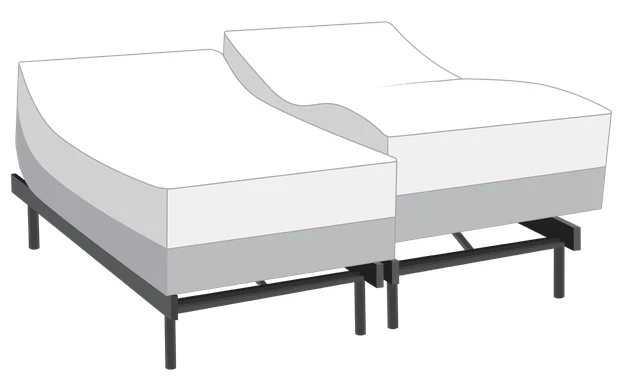 Power Bob Elite With Synergy Dual King Ultra Plush Mattress Bobs Com Plush Mattress Bobs Furniture Best Mattress