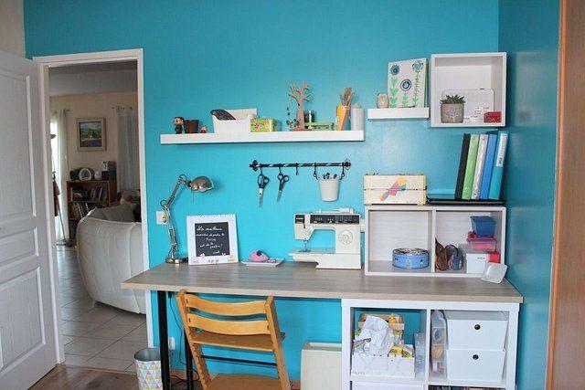 Amenager un espace bureau couture petit sal