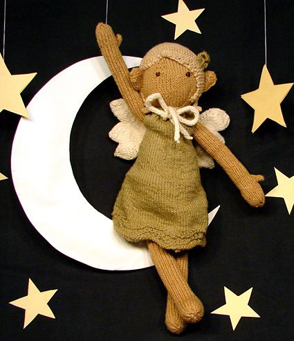 Sally the eco fairy doll by Knitty  *Free Pattern