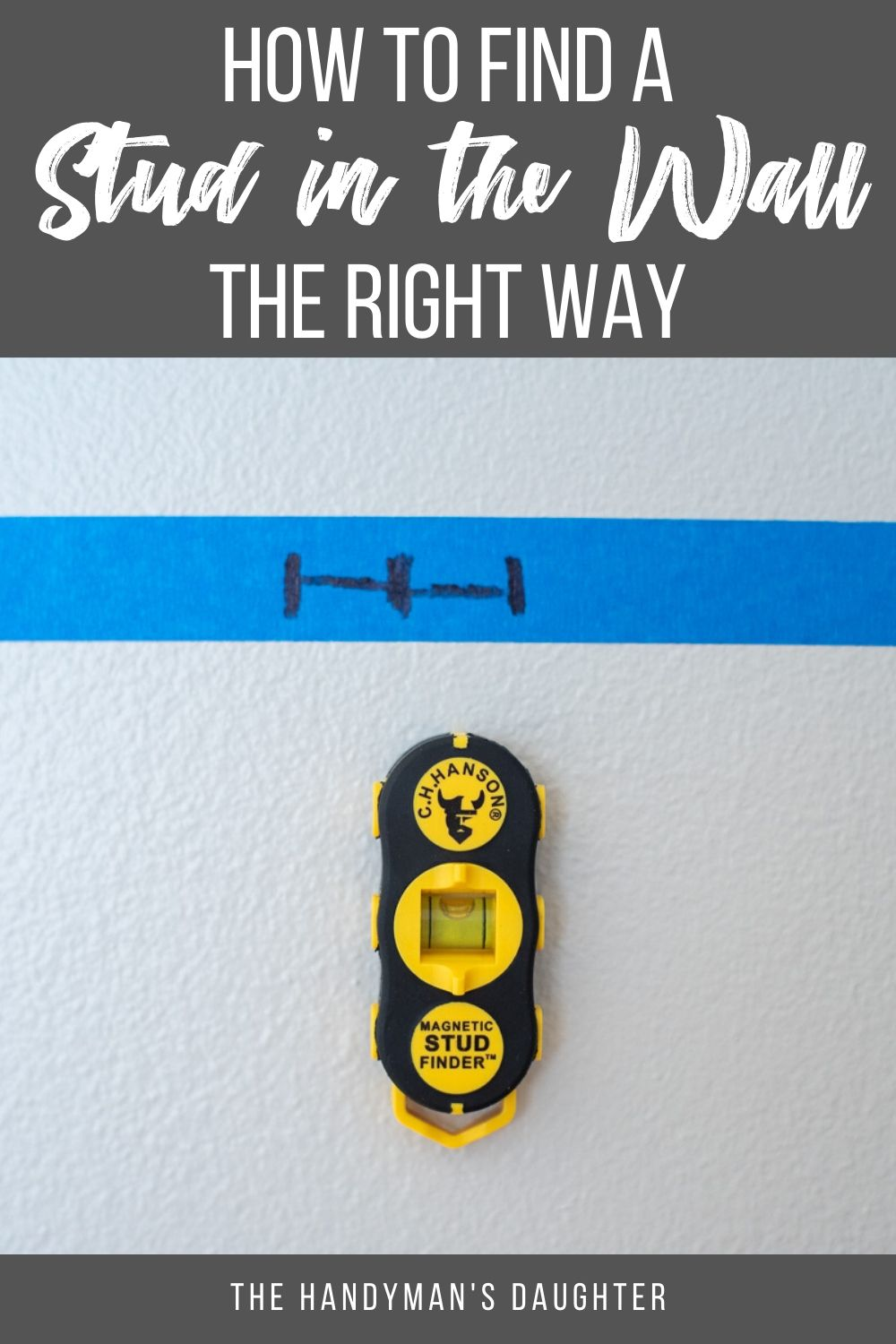 How To Find A Stud In The Wall The Right Way In 2020 Work Diy Stud Finder Budget Design