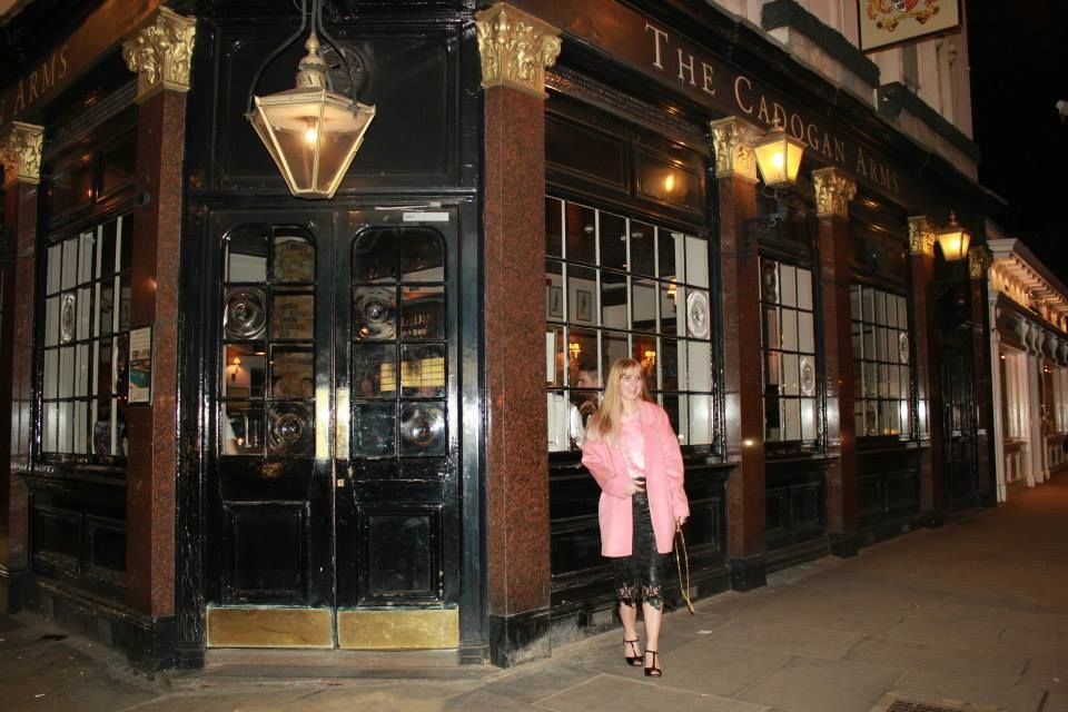 Author Pic  Me outside book location, Cadogan Arms. Venue for book launch party for my first novel If.   Get your copy of If at www.amazon.co.uk  #fanpic #if #firstnovel #Author #book launch