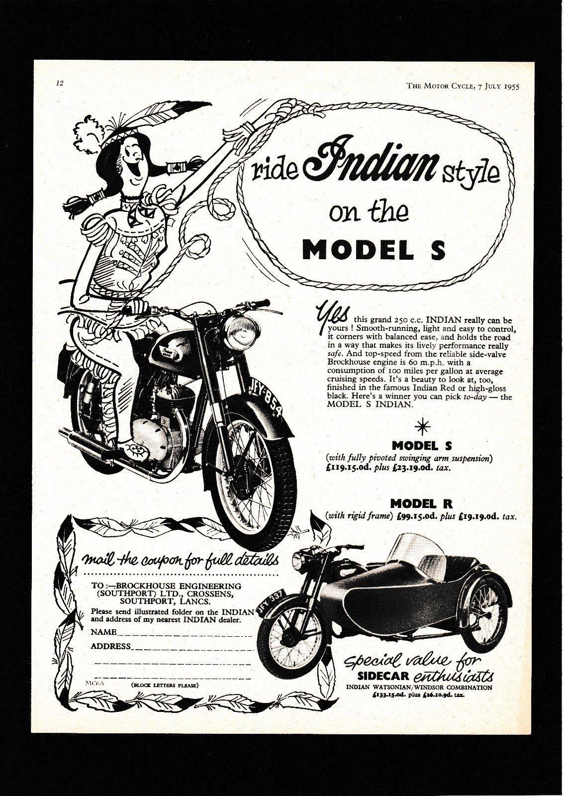 July Indian Brave Model S R 250 Sv Motorcycle