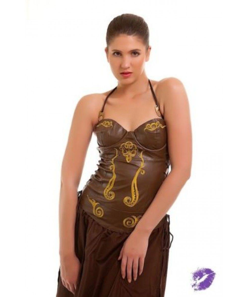 fc3dab80b Sexy Princess Leia Slave Costume Fancy Dress Cosplay Outfit Princess Leia Slave  Costume