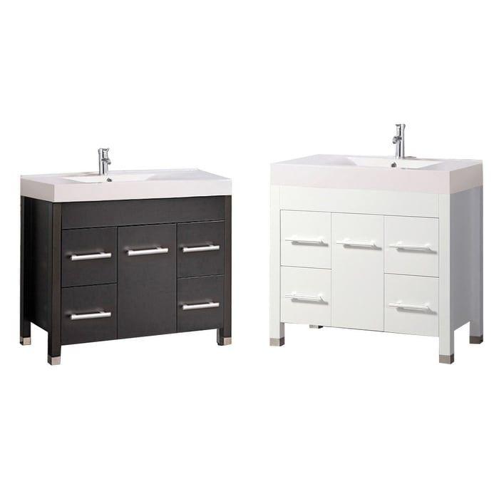 MTD Vanities Greece 36 Single Sink Modern Bathroom Vanity