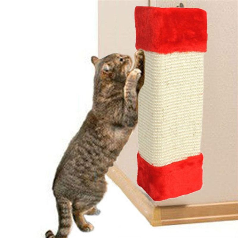 Best Price Large 23*49CM Pet Kitten Corner Sisal Wall Scratcher Protect  Wall Furniture Cat