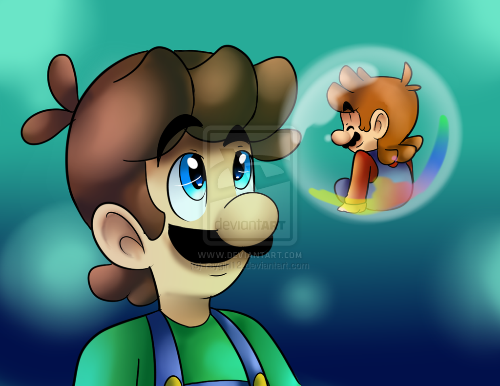 Bubble Mario By Raygirl12 On Deviantart Mario Luigi Super Mario World