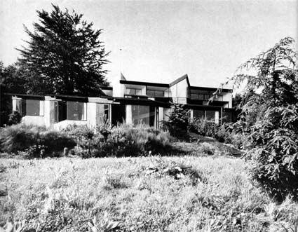 Wessling Gmbh house of karlheinz stockhausen in kürten germany architect