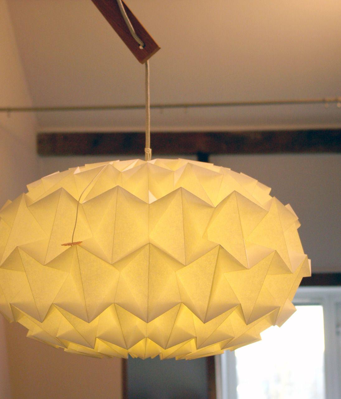handmade lighting design. Origami Lamp Handmade Lighting Design O