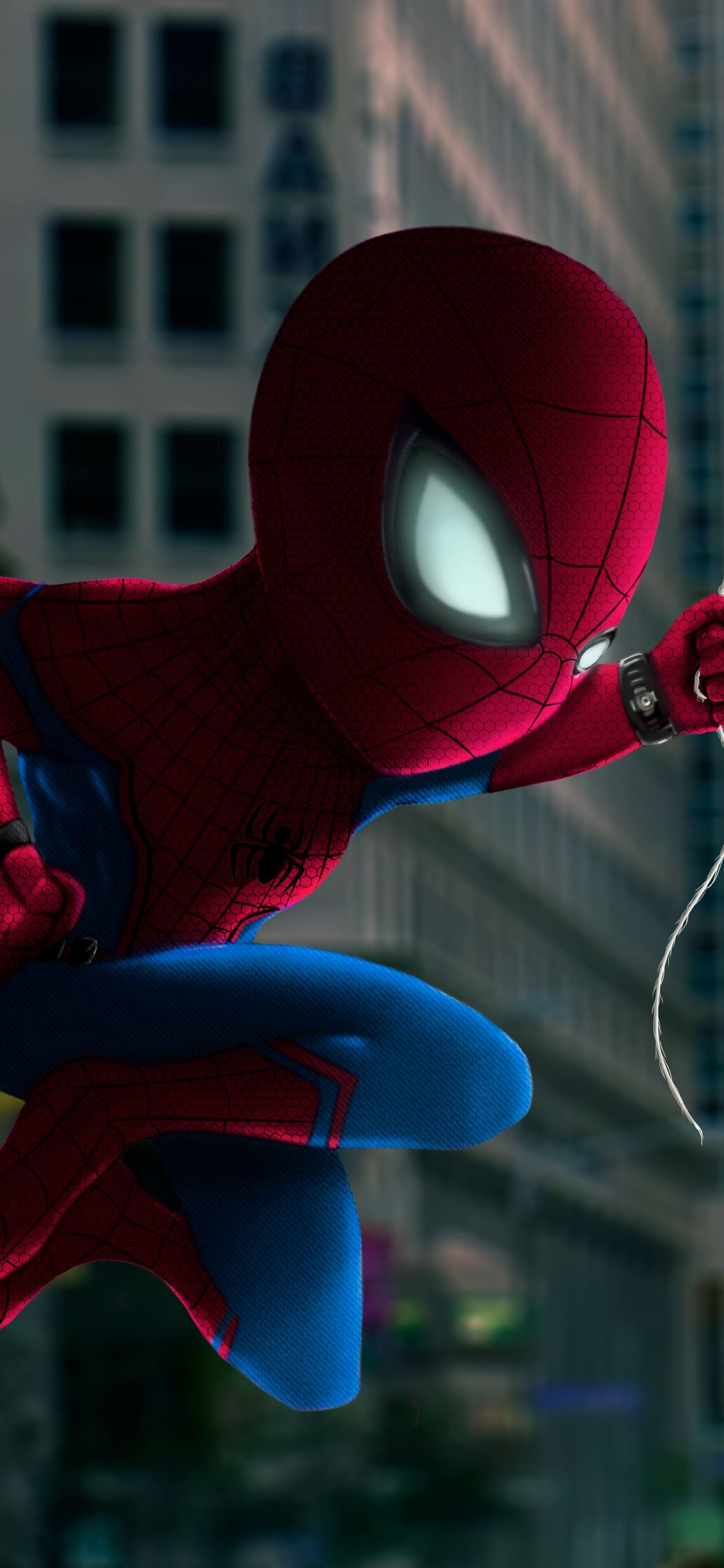 Spiderman Closeup Art Iphone X Spiderman Man Wallpaper Live