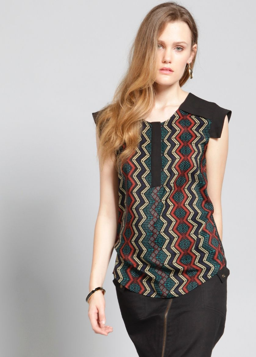 Marrakech Printed Top