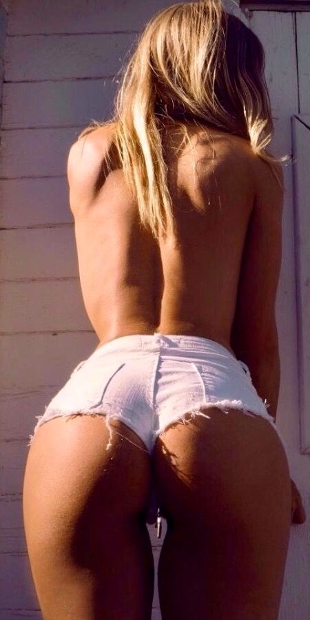 Sexy butt daisy dukes with butterfly her