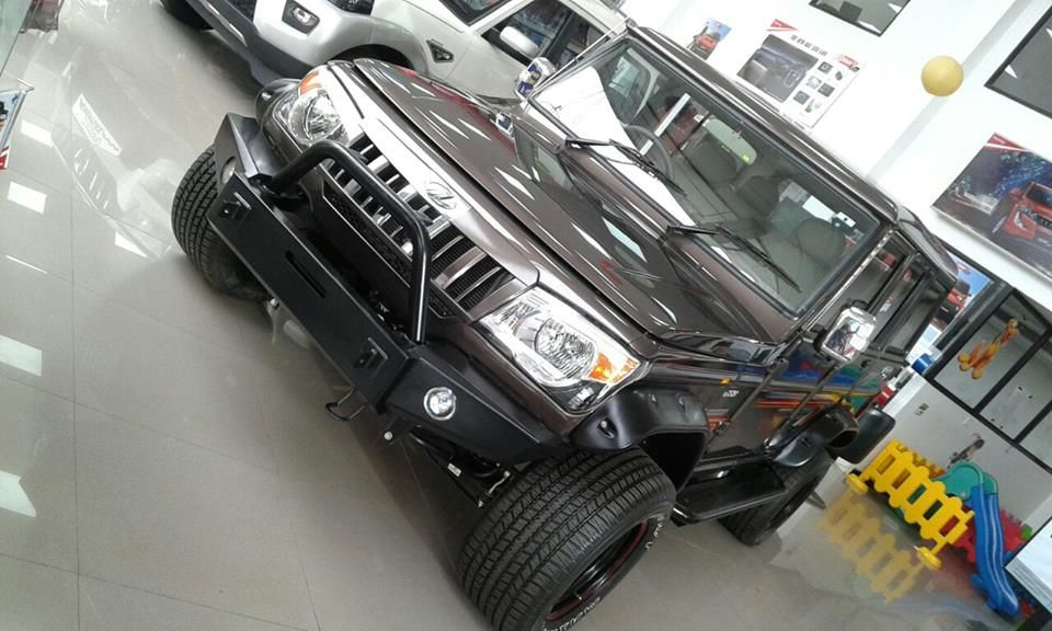 Mahindra Bolero Modified To Be A Hardcore Off Roader By Calicut Dealer