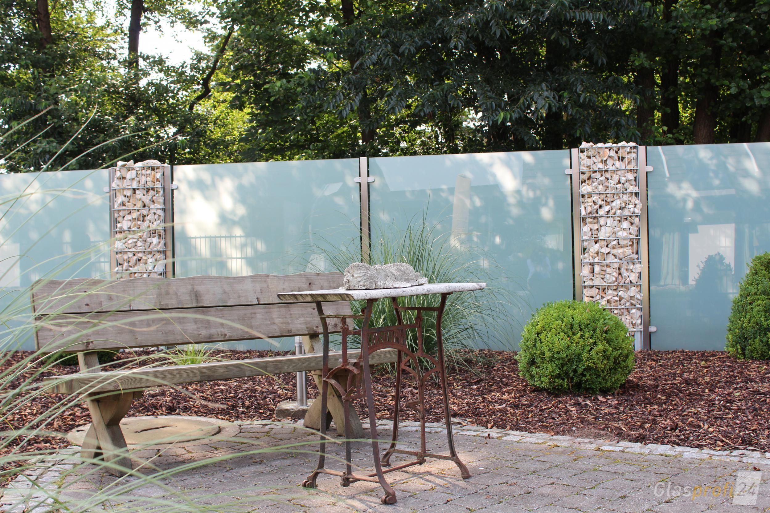 Sichtschutz Aus Glas Fur Den Garten Sichtschutzfurterrasse