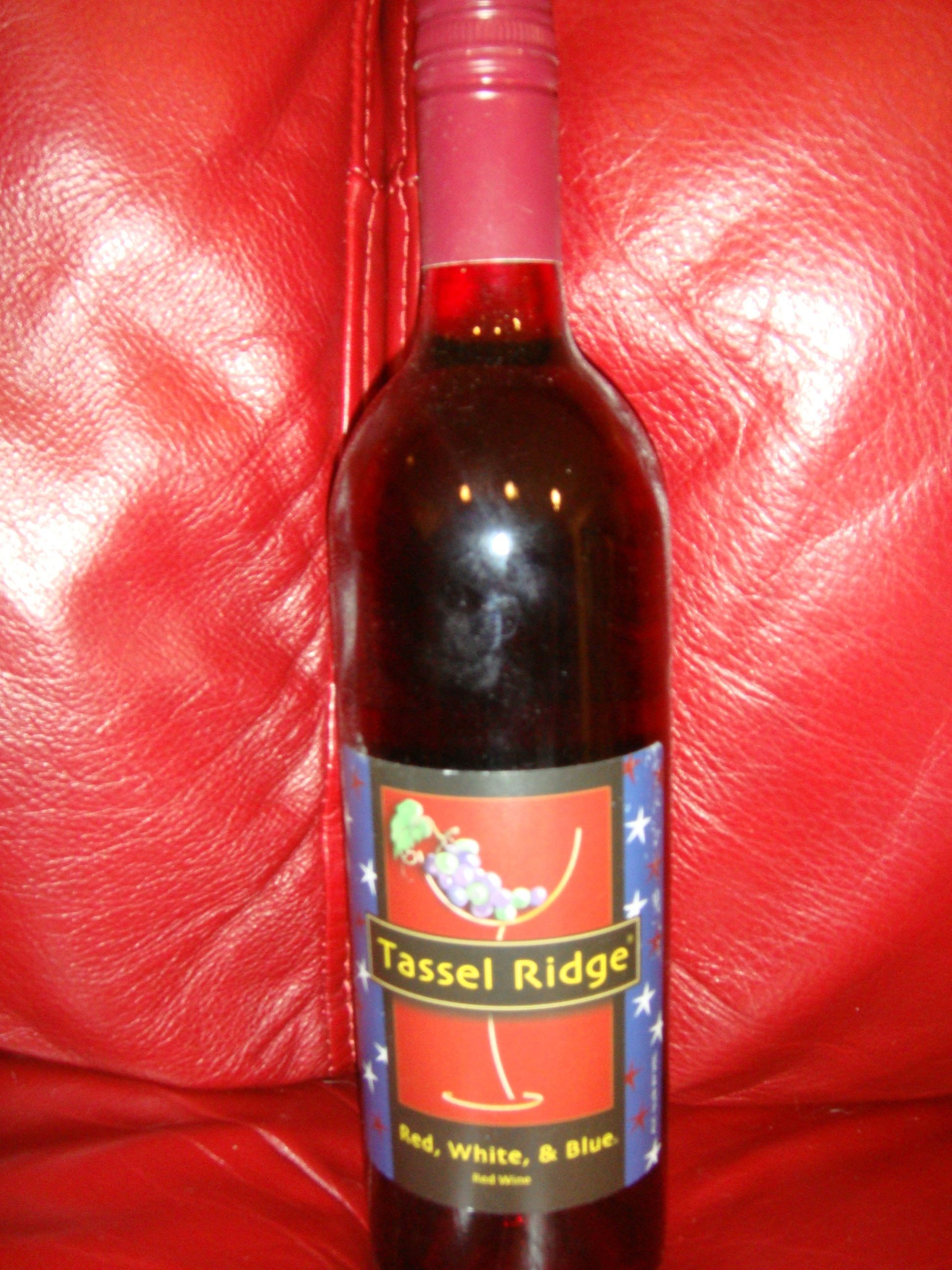 Red White Blue Red Wine By Tassel Ridge Winery In Leighton Ia Ridge Winery Red Wine Wine Bottle