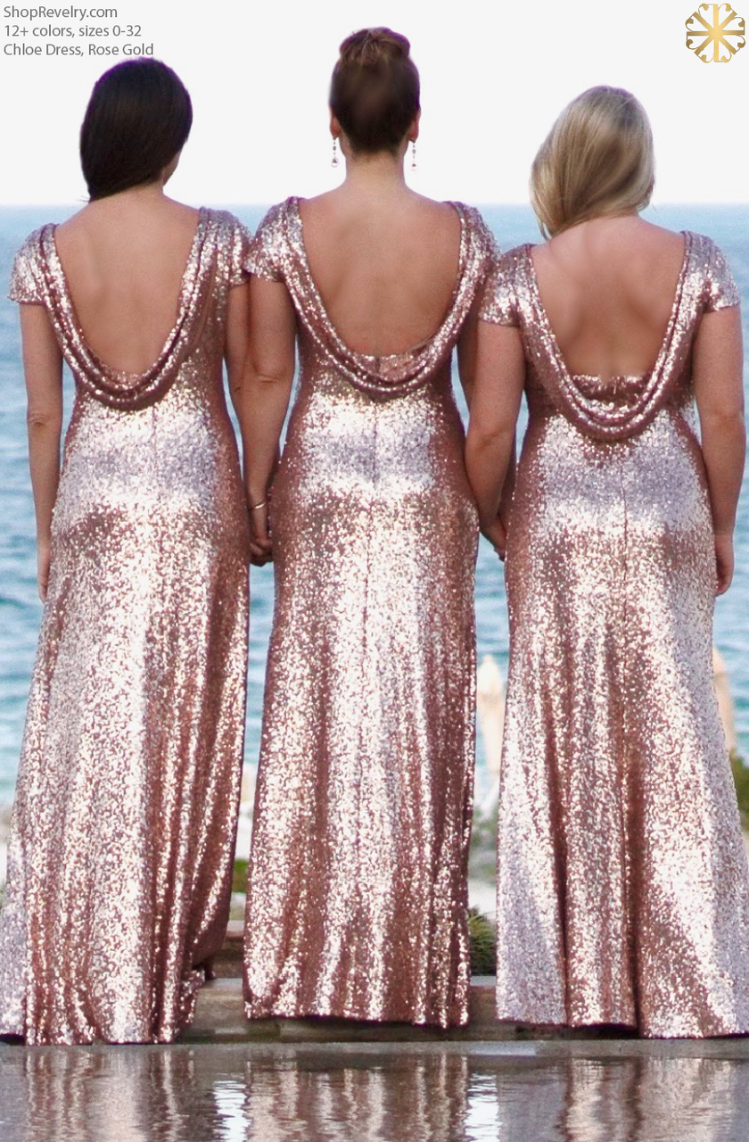 e81ec6db872 Revelry - Chloe Sequin Bridesmaid Dress
