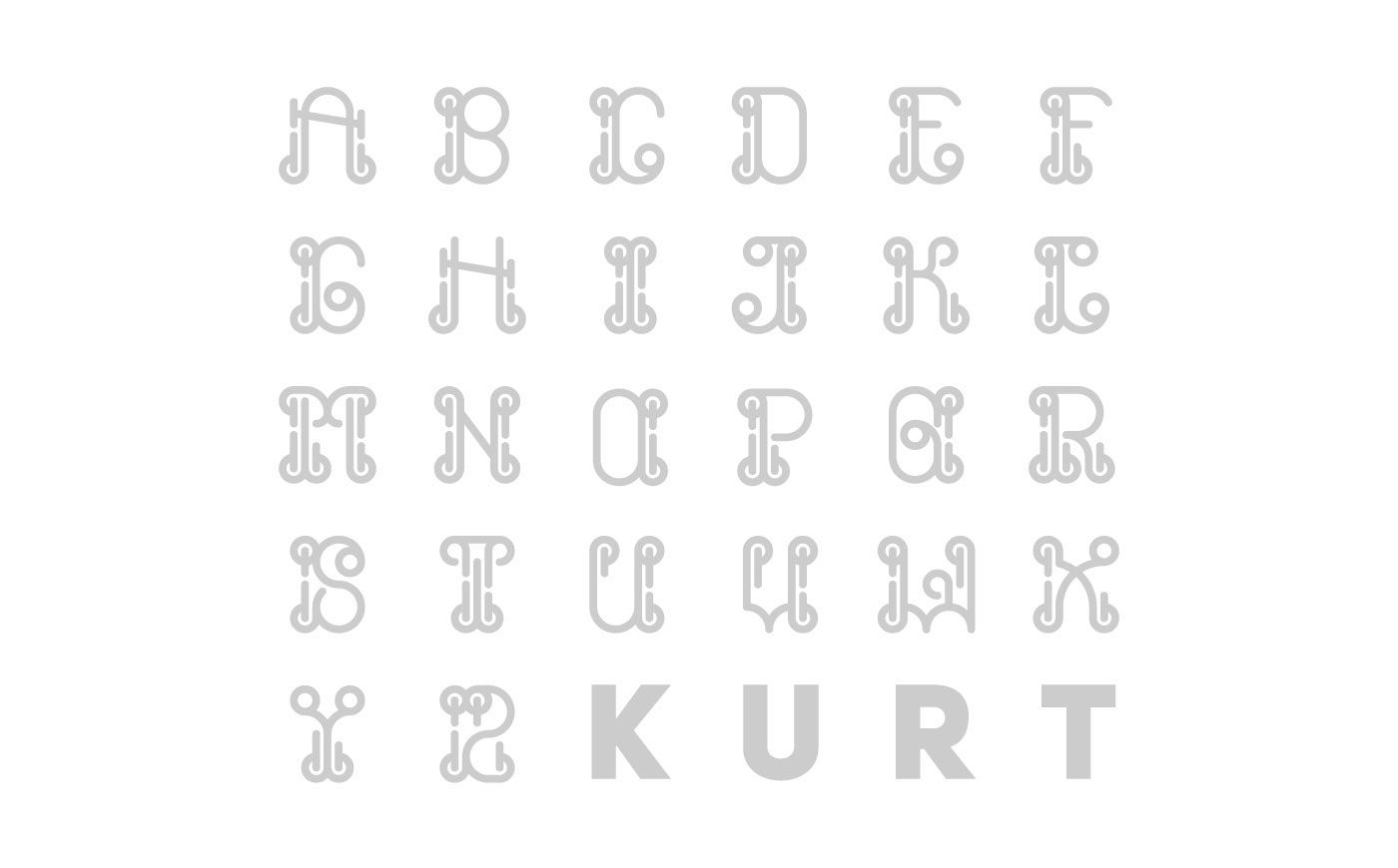 Kurt ist a Vector Display Font. Perfect for Posters