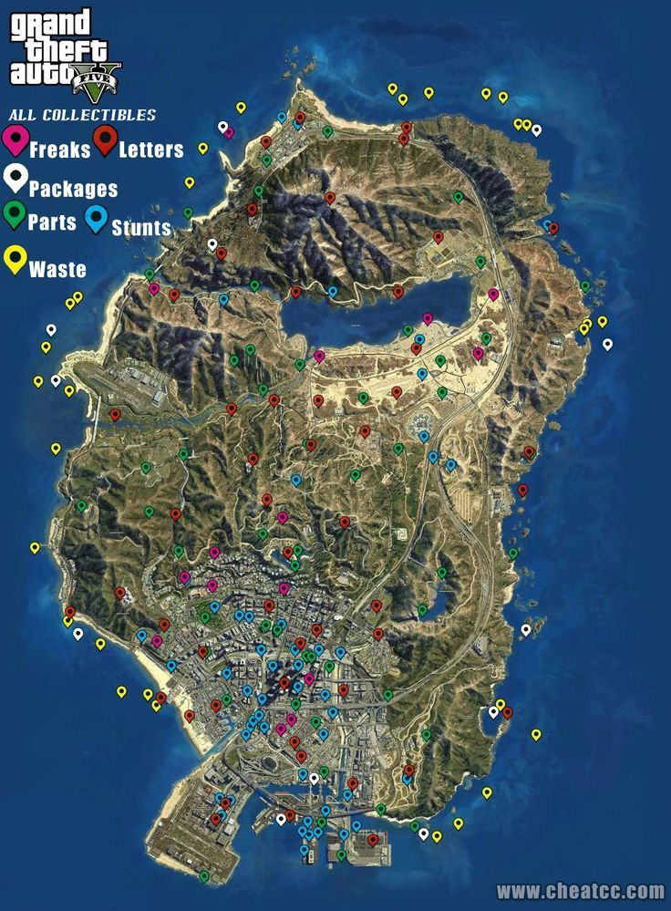 Gat V Map Grand Theft Auto Gta V Cheats Gta V Secrets