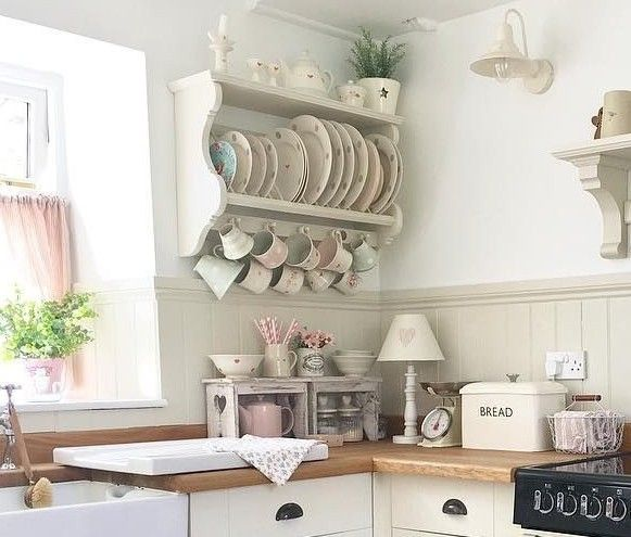 Interesting Facts About Shabby Chic Country Kitchen Design: Pin By Angieolivarez On House Redo