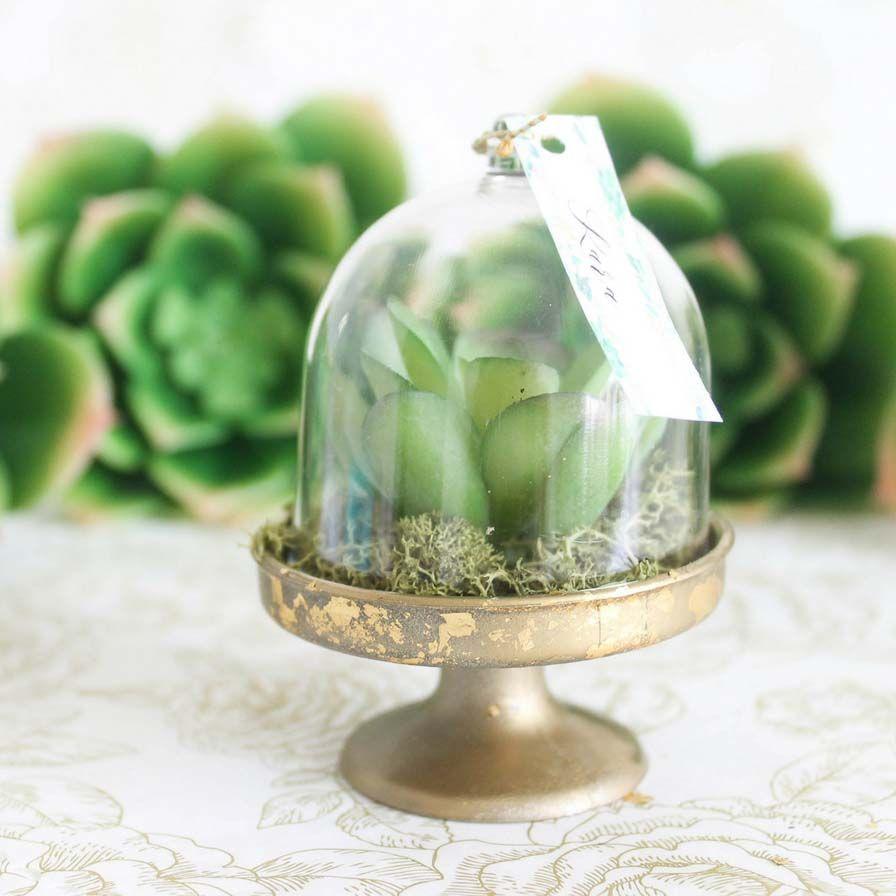 Wedding chair decorations diy  Small Cake Dome Favor Containers  DA Wedding  Pinterest  Wedding