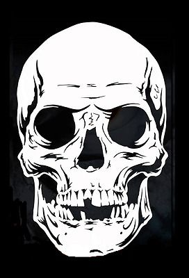 High Detail Airbrush Stencil Skull 99 FREE UK POSTAGE