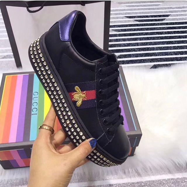 b44cbe16be9 Celebrity Inspiracion s Gucci Inspired New Ace Crystal Platform Sneaker   blogger  handbag  celebrity  designer  crystal  ace  newyork  like4like   supermodel ...