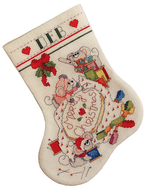 Kooler Design Studio Cross Stitch Christmas Cross Stitch Stocking Designs