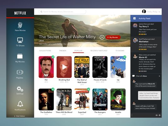 Netflix Given A Fresh New Look In This Design Concept