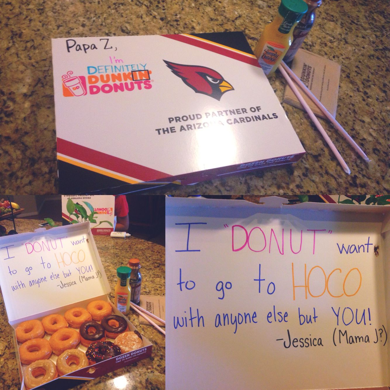 """Homecoming Response With Dunkin' Donuts """"I'm Definitely IN"""