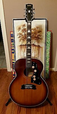 Vintage Global J 200 Jumbo Law Suit Guitar Guitar Acoustic Guitar Vintage