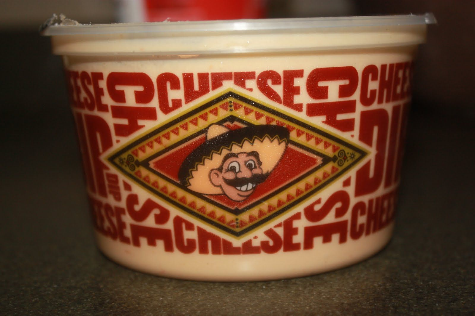 Snack: Pancho\'s cheese dip from Memphis. My dad always brings back ...