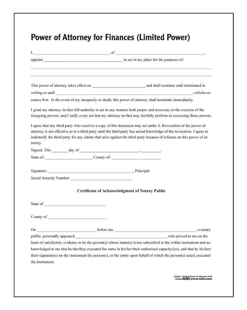Power Of Attorney Template For Children Excellent Adams Limited Power Of Attorney Forms And I Power Of Attorney Form Power Of Attorney Templates Free Design