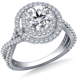 Pin by lurlene loper on ring Pinterest Double halo engagement