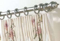 Six Inch Pencil Pleat Curtain Headings Curtain Styles Pleated Curtains