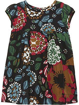 BURBERRY Wendie cotton dress 6-36 months