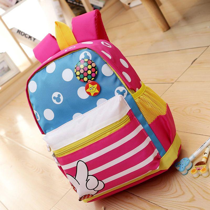Kinder Mädchen Jungen Cartoon Rucksack Kindergarten Schultasche Backpack Reise