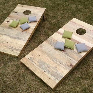 Cornhole Pallets #palletprojects