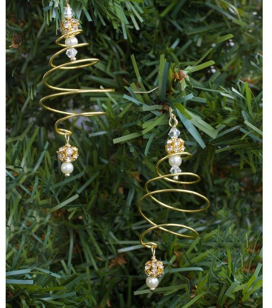 How To Make Spiral Tree Earrings crafts Pinterest Joann