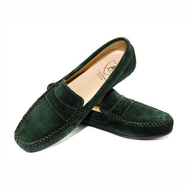 green loafers women - Google Search
