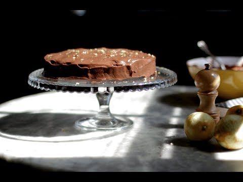 Bolo de Chocolate e Amêndoas com Cobertura de Chocolate, Limão e Pimenta - YouTube