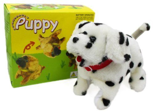Toy Puppy That Walks Sits Flips Over Barks Http Www