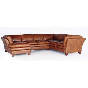 3pc7203soalvlcs Sierra Camel Leather 3 Piece Sectional