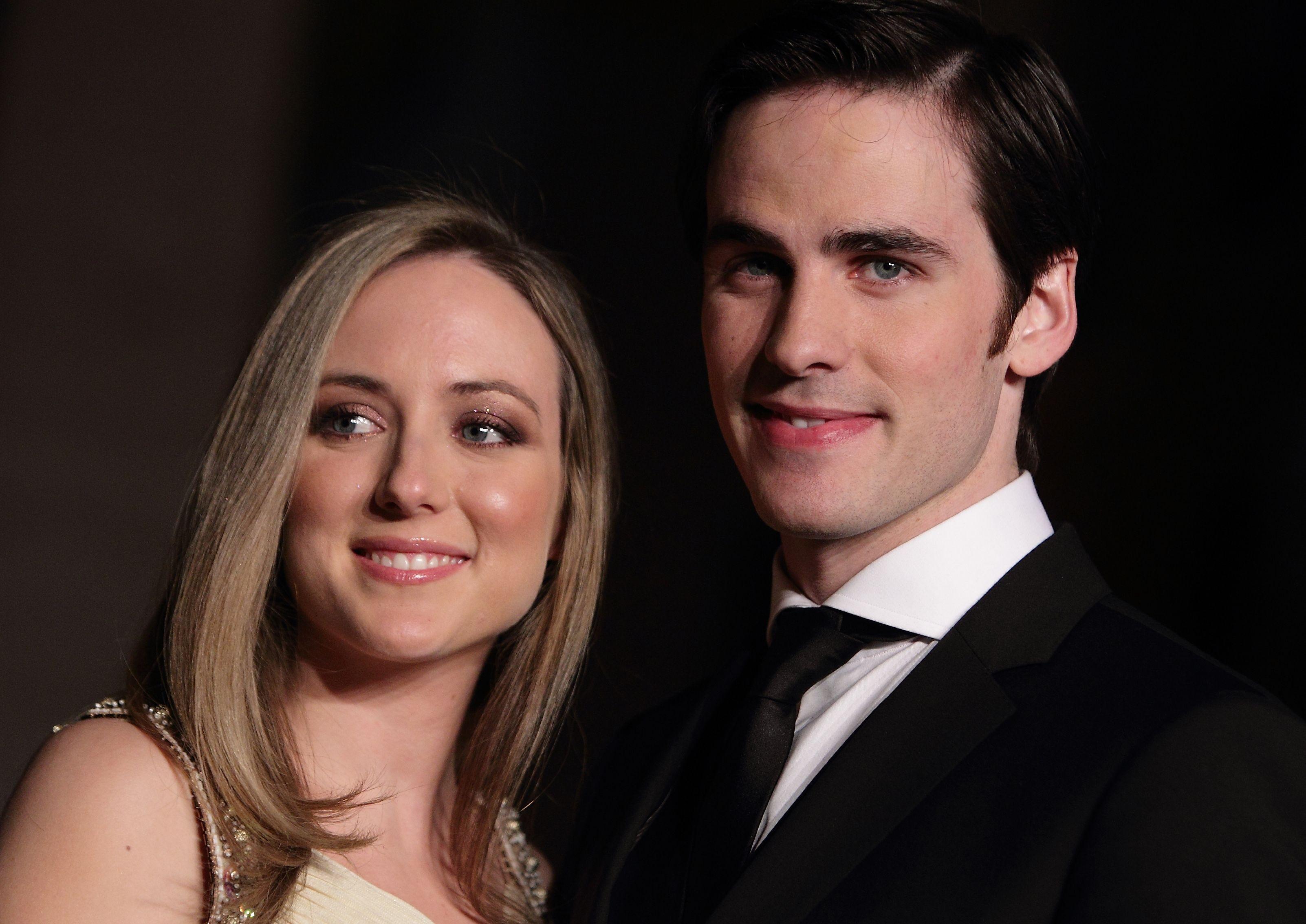 Colin O'Donoghue & Helen O'Donoghue. What a cute couple