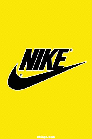 Nike Logo Yellow Hd Wallpapers For Iphone Is A Fantastic Hd