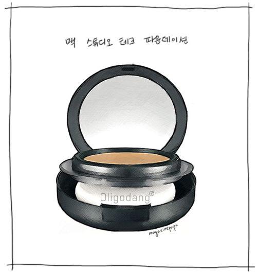 #oligodang #cosmetic #makeup #hair #K-beauty 올리고당 메이크업 맥 스튜디오 테크 파운데이션
