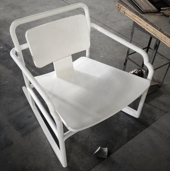 AKAR DE NISSIM's Rocking Chair MARCEAU in solid oak