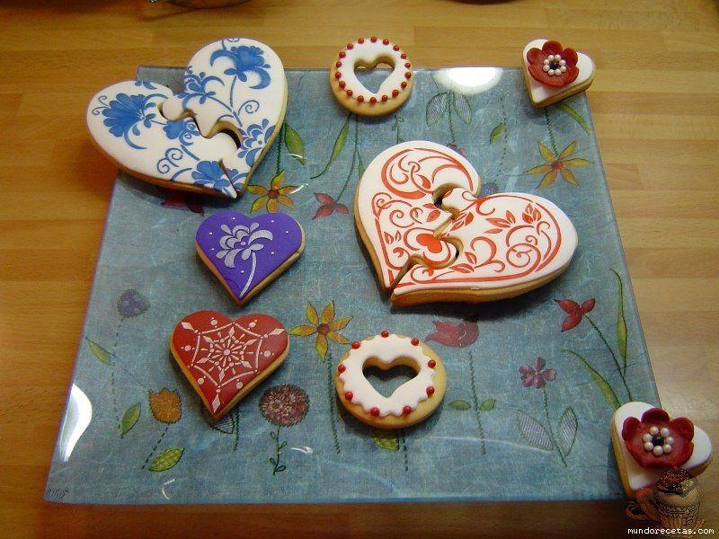 galletas san valentin papel de azucar - Buscar con Google