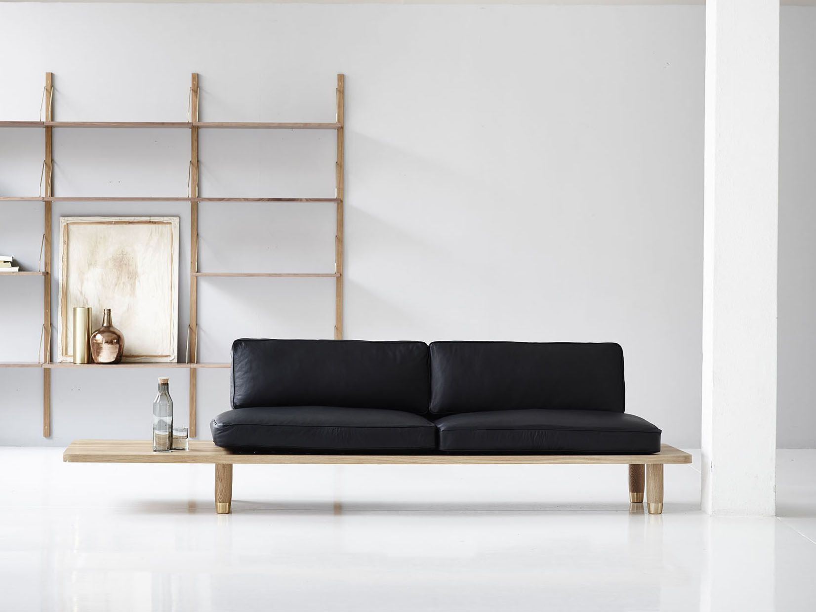 Http://cdn.furniturefashion.com/wp Content/uploads/2014/08/black Leather  Minimal Sofa Design | Home | Pinterest | Minimal And Interiors