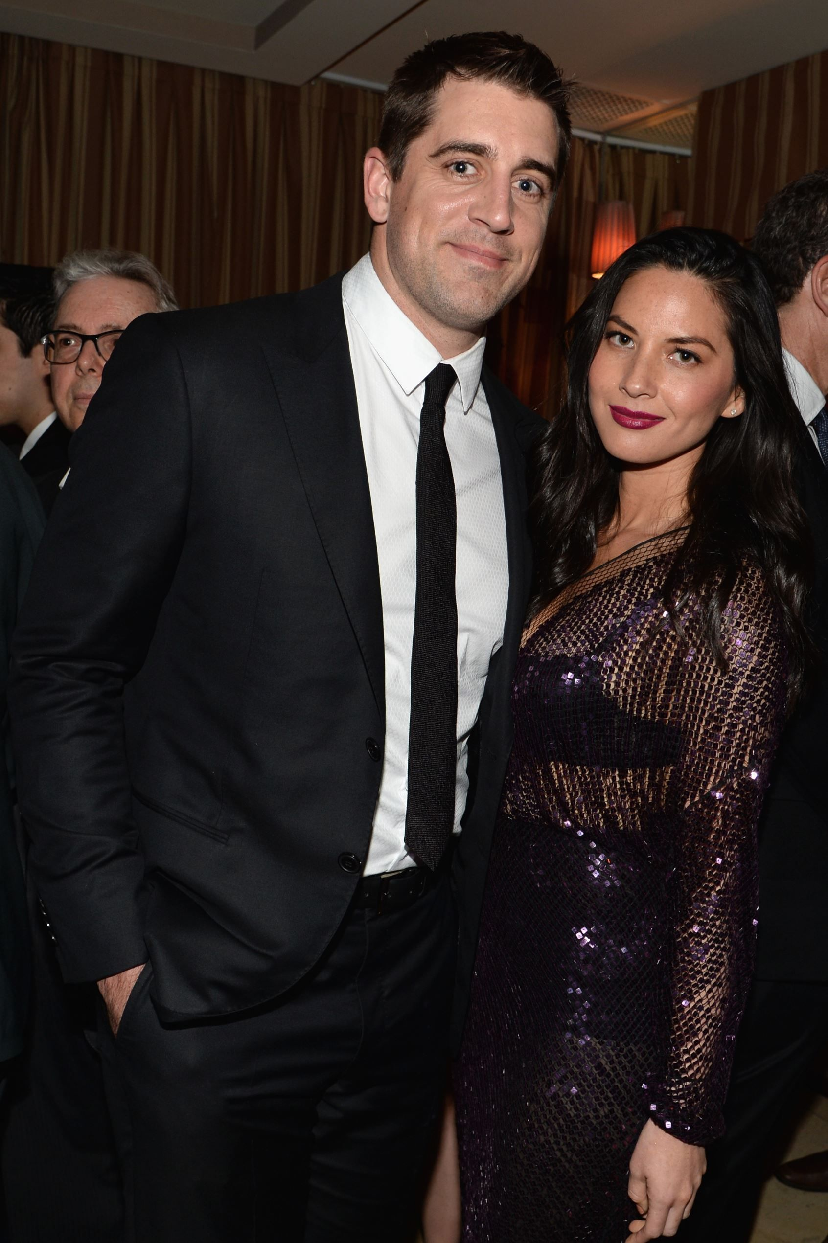 Olivia Munn And Aaron Rodgers Look Completely Smitten With Each Other During Pre Oscars Party Olivia Munn Aaron Rodgers Shirtless Aaron Rodgers